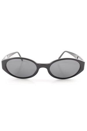 Emporio Armani Ovale zonnebril zwart casual uitstraling