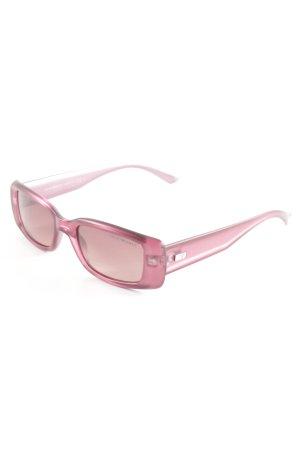 Emporio Armani Oval Sunglasses violet casual look
