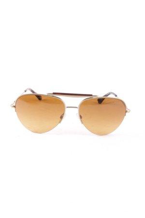 Emporio Armani Pilot Brille mehrfarbig Retro-Look