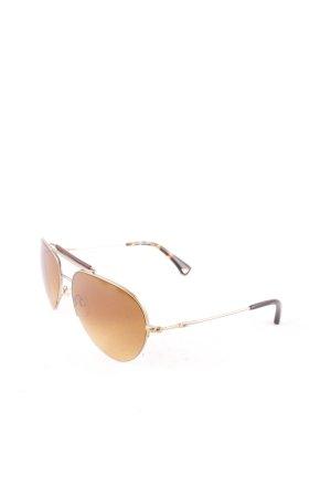 Emporio Armani Aviator Glasses multicolored retro look