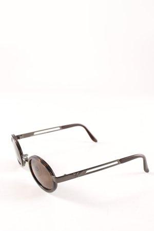 Emporio Armani Retro Glasses brown-dark brown retro look