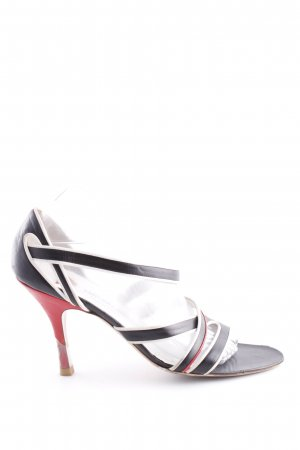 Emporio Armani Strapped High-Heeled Sandals multicolored casual look