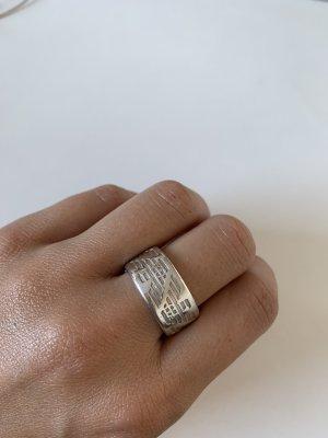 Emporio Armani Silver Ring silver-colored