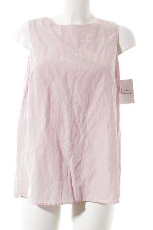 Emporio Armani Rückenfreie Top rosa Glanz-Optik
