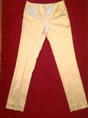 Emporio Armani Stretch Trousers natural white mixture fibre
