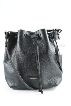 Emporio Armani Bolsa de hombro negro elegante