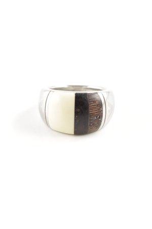 Emporio Armani Anello d'argento argento elegante