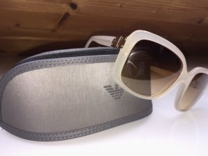 Emporio Armani Angular Shaped Sunglasses nude-beige