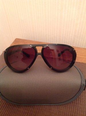 Emporio Armani Sonnenbrille in gradient black, tear drop Form, wie NEU!