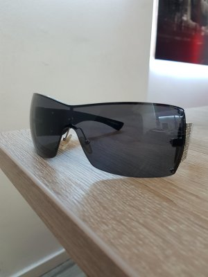 Emporio Armani Sunglasses black-silver-colored metal