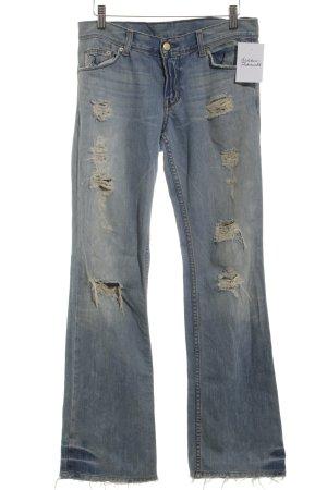 Emporio Armani Straight-Leg Jeans himmelblau Casual-Look