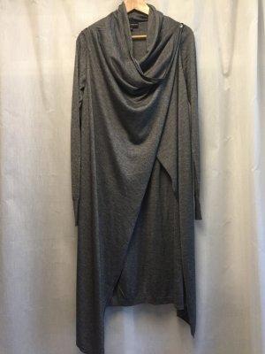 Emporio Armani Robe en maille tricotées gris foncé tissu mixte