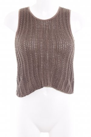 Emporio Armani Knitted Top light brown Paris-Look