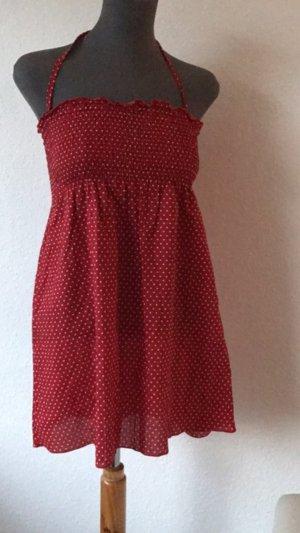 Emporio Armani Swimwear gepunktetes Kleid Träger S 36