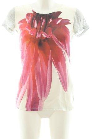 Emporio Armani T-Shirt Blumenmuster Casual-Look