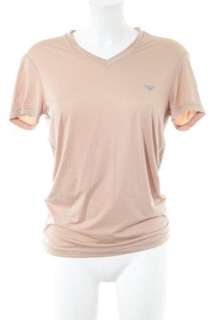 Emporio Armani T-Shirt nude Casual-Look