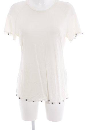 Emporio Armani T-Shirt creme Casual-Look