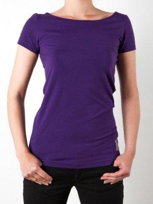Emporio Armani T-Shirt lila (Gr.XS S)