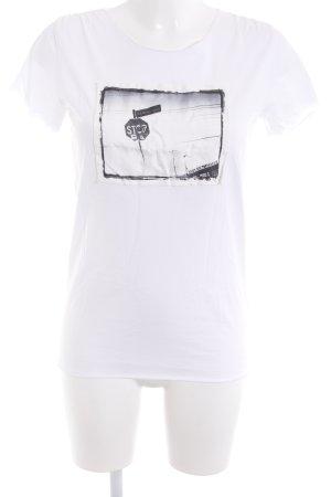 Emporio Armani T-Shirt mehrfarbig Casual-Look