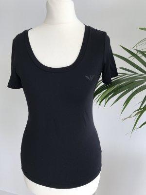 Emporio Armani T-Shirt Top schwarz wie NEU 34-36