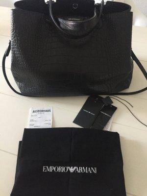 Emporio Armani Tasche 100% Leder mit Rechnung wie neu - letzte Reduzierung!!