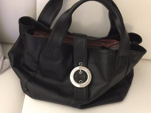 Armani Handbag black-silver-colored
