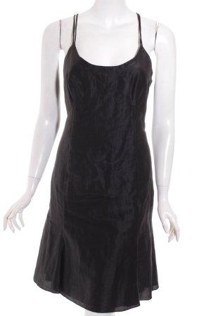 Emporio Armani Trägerkleid schwarz Elegant