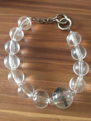 Emporio Armani transparent Halskette
