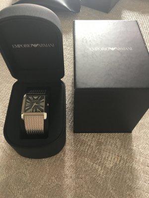 Emporio Armani Uhr aus Edelstahl