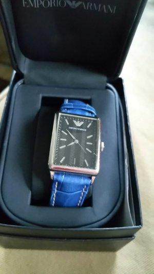 emporio Armani Uhr schwarzes Ziffernblatt