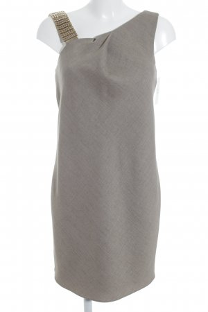 Emporio Armani Wollkleid beige meliert Elegant