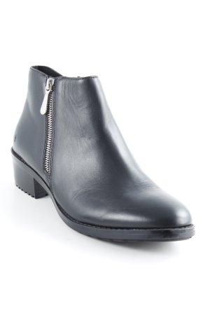 Emu Ankle Boots schwarz schlichter Stil