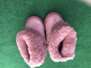 Emu Botas de nieve rosa Lana