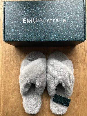 Emu Zapatillas para casa gris claro