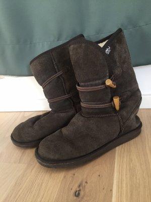 Emu Snow Boots black brown