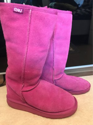 Emu Winter Boots pink