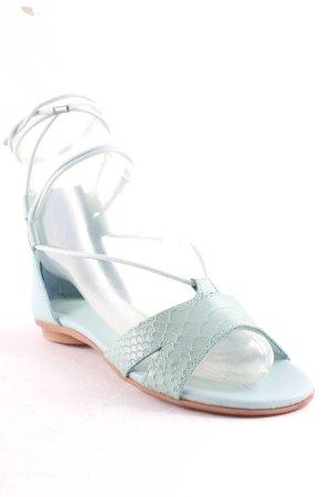 Emu Riemchen-Sandalen türkis klassischer Stil