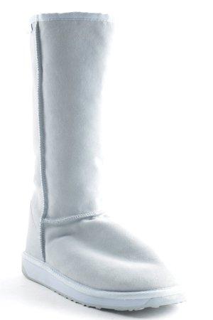 Emu Snowboots himmelblau Street-Fashion-Look