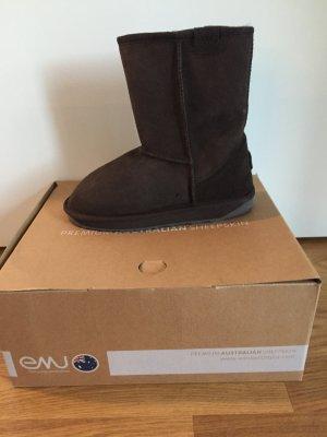 Emu Stinger Lo Boots echtes Lammfell
