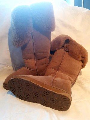 emu Water Resistant Premium Australian Sheepskin Overknee Boots