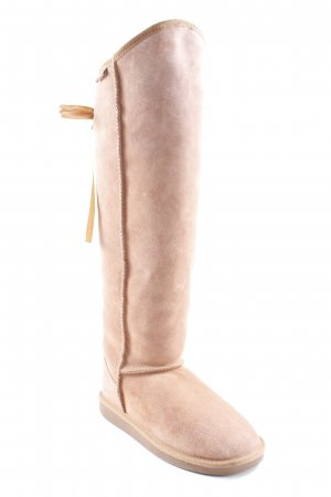 Emu Winterstiefel beige-goldfarben Casual-Look