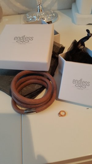 Bangle brown leather