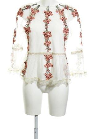 endless rose Transparenz-Bluse mehrfarbig Lagen-Look