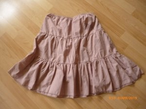 Broomstick Skirt dusky pink-mauve cotton