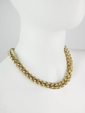 Link Chain gold-colored metal