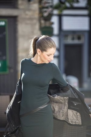 Eng anliegendes Kleid von Patrizia Pepe