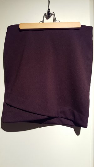 H&M Stretch rok paars-bruin-paars