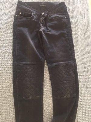 Enge Biker-Jeans stonewashed von SET