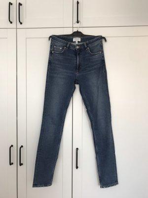 Enge Highwaist-Jeans