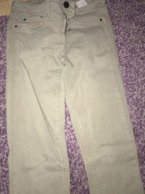 Tally Weijl Jeans skinny gris vert